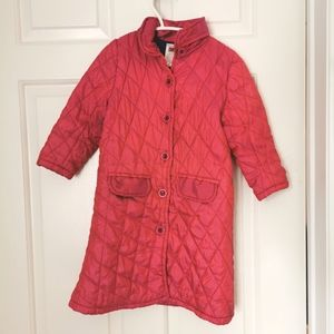 2/$30  April Cornell quilted coat girls size 2